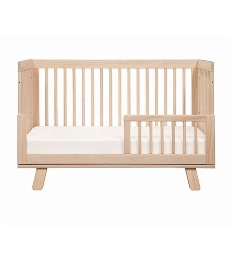 toddler convertible bed babyletto hudson 3 in 1 convertible crib with toddler bed conversion kit washed natural