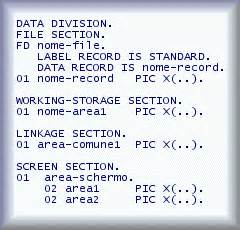 fd section in cobol nicola maggi programmare in cobol