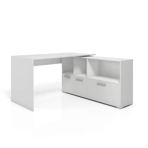 Wrap Desk by Desk Corner Desk Wrap Around Desk Computer Desk White Ebay