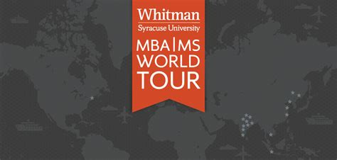 Mba Or Ms Management by Whitman School Of Management At Syracuse