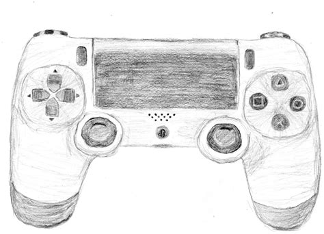 doodle ps2 controller playstation pencil and in color
