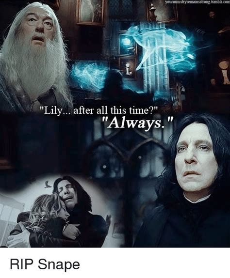 Snape Always Meme - funny snape memes of 2017 on sizzle rickman