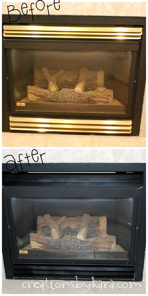 Paint Gas Fireplace by 25 Best Ideas About Brass Fireplace Makeover On