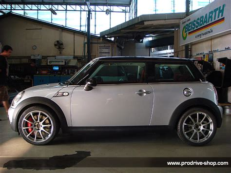 Mini Advan r56 with stoptech advan rs 2 photo din prodrive