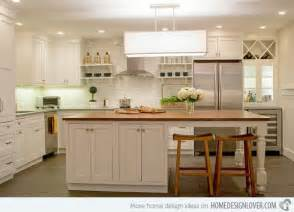 beautiful kitchens with islands 15 beautiful kitchen island with table attached