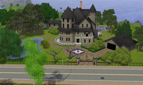 haunted house 3 sims 3 haunted house by ramborocky on deviantart