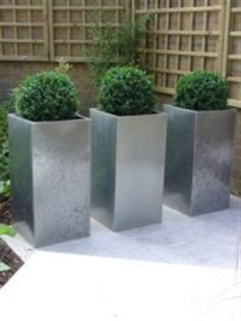 Silver Planters Outdoor 1000 Images About Planters On