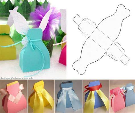 paper bag princess costume pattern cajas regalo con forma de vestido para las fiestas