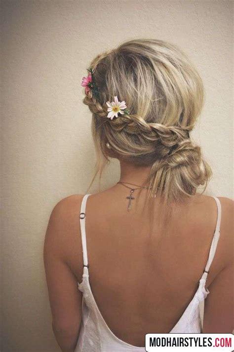 Braided Hair Bun bun hairstyles with braids hairstyles