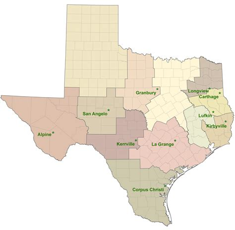 service county texas map texas a m forest service home page