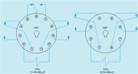 wiring diagram for 8 pin relay diagram free
