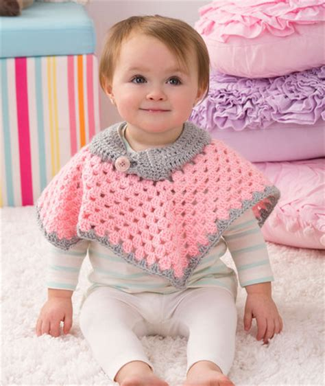 free knitting pattern baby poncho crochet patterns galore sweet baby poncho crochet baby