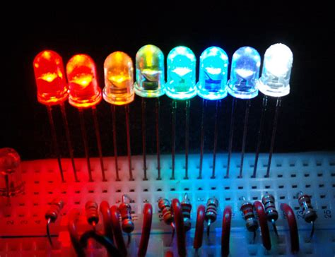 resistor e led what is an led all about leds adafruit learning system