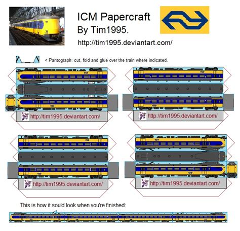 Papercraft Trains - icm papercraft by tim1995 on deviantart