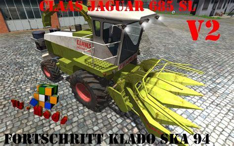 Ls Ska fs 2013 claas jaguar 685 sl and klado ska 94 v 2 jaguar mod f 252 r farming simulator 2013