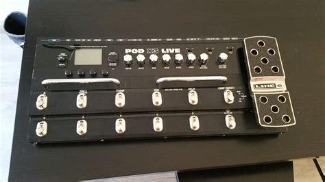 Line 6 POD X3 Live image (#1550113) - Audiofanzine Line 6 Pod Pro