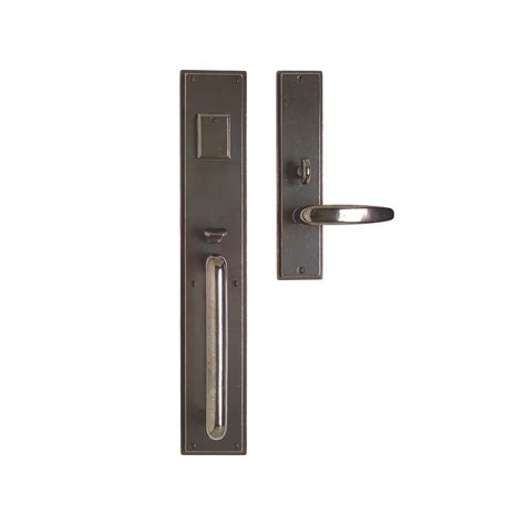 Exterior Door Lock Sets Stepped Entry Set 3 1 2 Quot X 20 Quot Entry Thumblatch Mortise Lock G320 Rocky Mountain Hardware