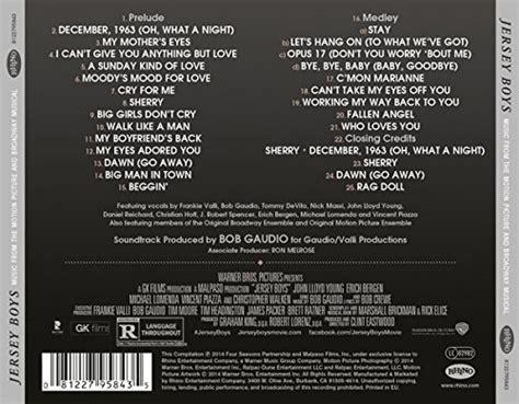 Song Credit Format Jersey Boys Trilha Sonora Tudosobreseufilme