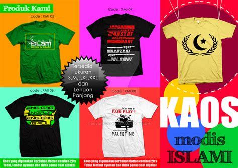 Kaos Islami Tshirt Islam 1 brosur kaos modis islami by deviant echo on deviantart