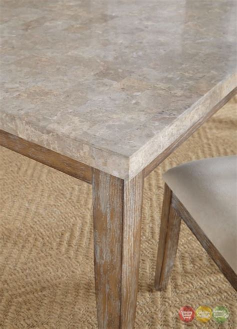 marble veneer table top franco rustic marble top dining table with grey distressed