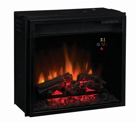 Electric Fireplace With Sound by 18 Classic Fixed Front Backlit Electric Fireplace