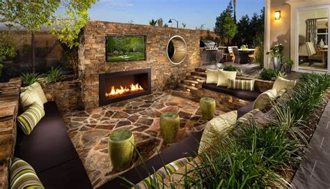 rustic patio designs rustic patio with pathway fence zillow digs zillow