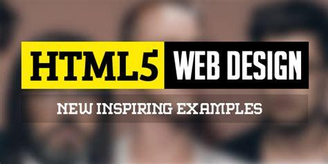 html5 typography html5 web design 25 fresh web exles web design