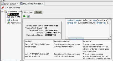 sql query tuning tutorial oracle sql developer 优化sql语句 csdn博客