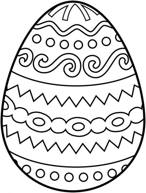 four easter egg coloring pages batch coloring
