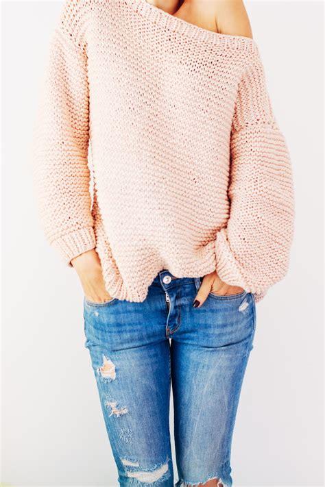 oversized knit pullover peachy keen oversize knitted sweater allfreeknitting