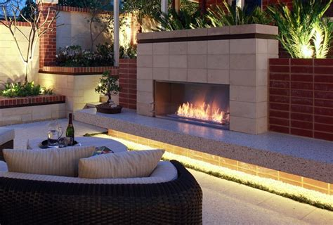 Ethanol Fireplace Perth by 1000 Images About Outdoor Fireplace Ideas On