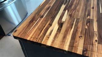 oiling the lumber liquidators acacia butcher s block