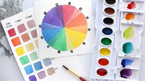 colour mixing guide watercolour 1782210547 how to stretch your watercolors by mixing simple beautiful custom colors youtube