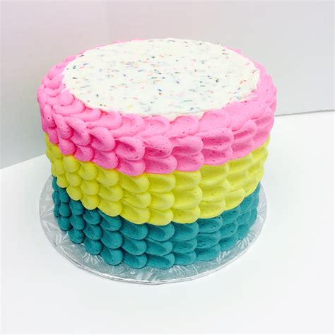 three colors three color petal les amis bake shoppe