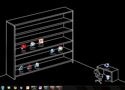 organizing my windows desktop user
