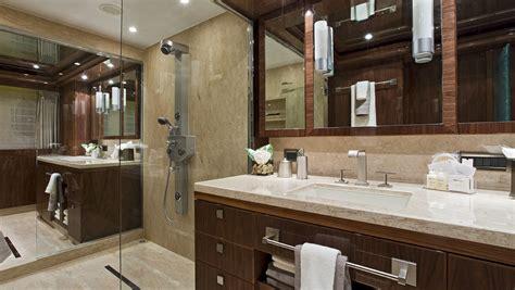 electra superyacht master cabins bathroom yacht gigi ii yacht master cabin double bathroom yacht