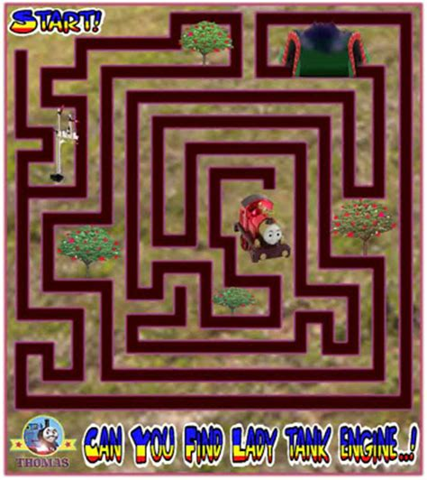 printable games online thomas the tank engine games free online maze puzzle for