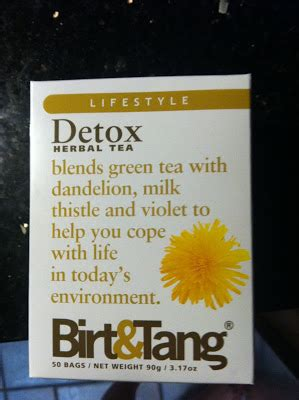 Birt And Tang Detox Tea by Designer Bags And Diapers