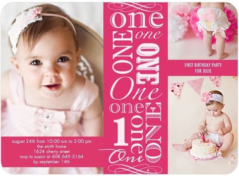 free birthday invitation templates for 1 year one year birthday invitations ideas free