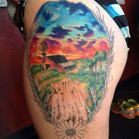 farm tattoos agriculture ideas pictures to pin on