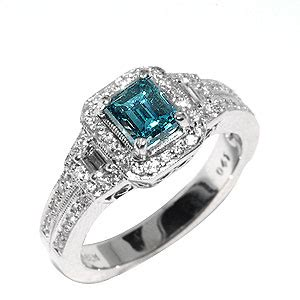 vintage blue wedding rings the wedding specialists