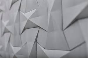 Concrete Origami - concrete origami tile design by ilan garibi for kaza