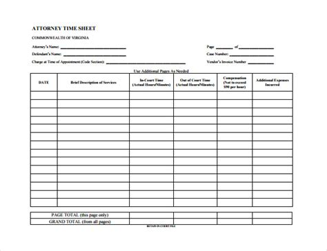 Timesheet Templates 35 Free Word Excel Pdf Documents Download Free Premium Templates Timesheet Template Sheets