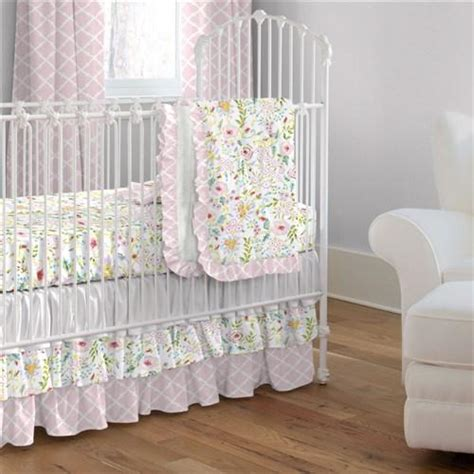 crib bedding pink and gray pink and gray primrose crib comforter carousel designs