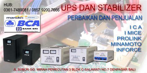 Harga Ups Merk Ica 602b ups dan stabilizer ups ica pn 602b dengan battery accu