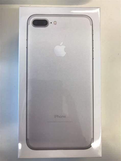brand new sealed iphone 7 plus silver 32gb never opened in southton hshire gumtree
