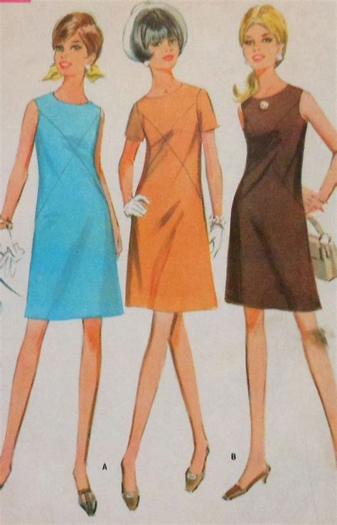 pattern for a line dress free vintage a line dress sewing pattern mccalls 9189 size 12 1960s