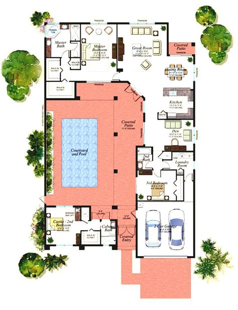house plans with casita one story house plans with casita house design and