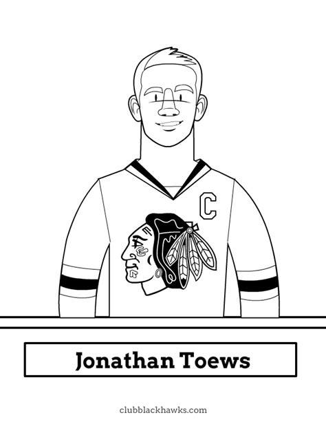 free coloring pages of chicago blackhawks logo