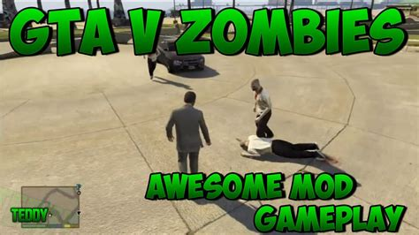 gta  zombies mod zombies apocalypse  grand theft